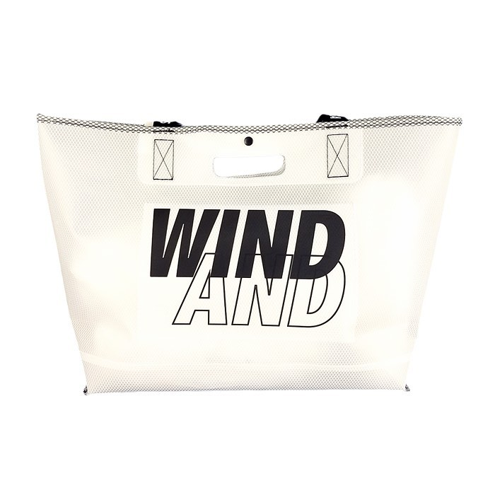 WIND AND SEA ウィンダンシー WDSxWEEKEND(ER) TEX toto bag ブラック WDS-20S-GD-12