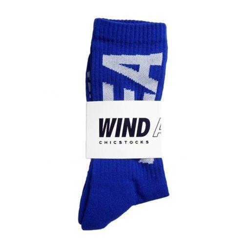 WIND AND SEA ウィンダンシー WDSxCHICSTOCKS RIB SOX WDS-20S2-GD-03 ブルー