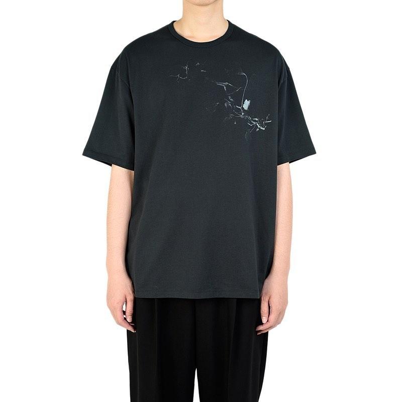 LAD MUSICIAN ラッドミュージシャン BIG T-SHIRT ビッグTシャツ ダークグリーン 2320-806