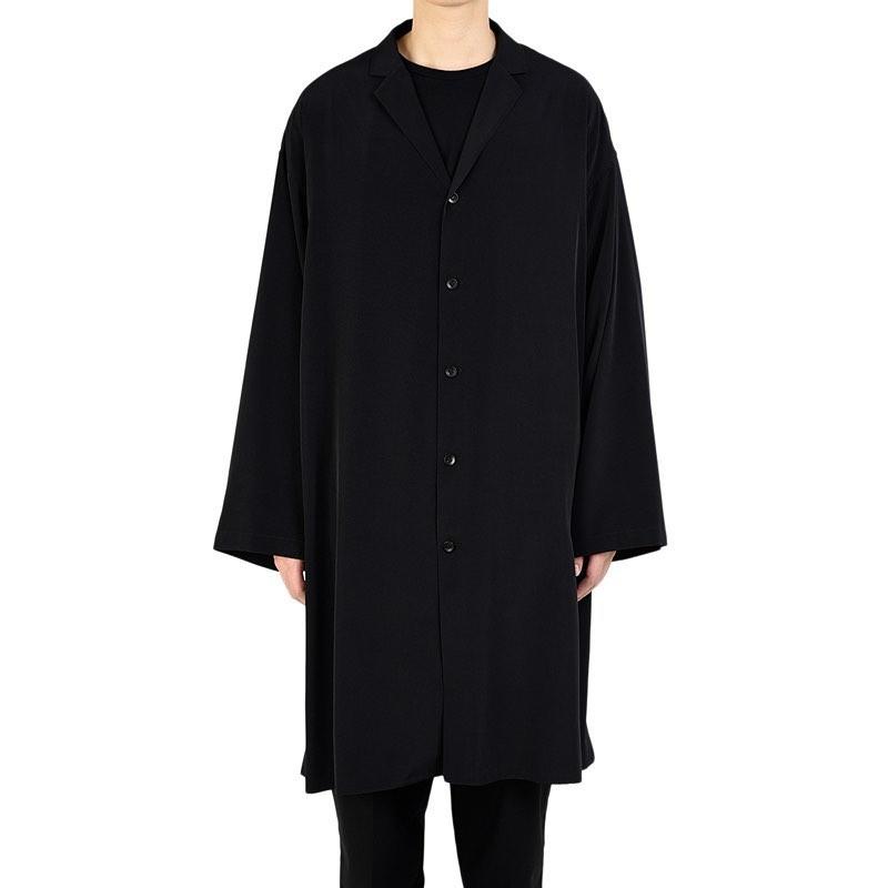 LAD MUSICIAN ラッドミュージシャン LONG SHIRT ロングシャツ ブラック 2320-104