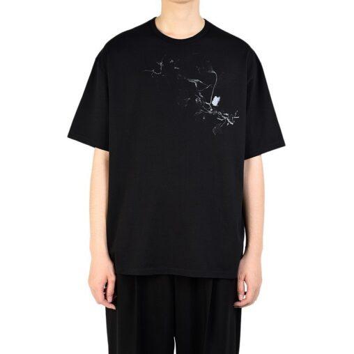 LAD MUSICIAN ラッドミュージシャン BIG T-SHIRT ビッグTシャツ ブラック 2320-806