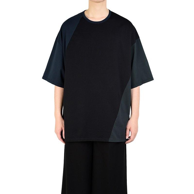 LAD MUSICIAN ラッドミュージシャン SUPER BIG T-SHIRT スーパービッグTシャツ ブラック 2320-713