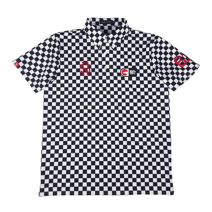 rough&swell ラフアンドスウェル GT TOUR ポロシャツ ブラック RSM-20005 / ゴルフウェア メンズ ラフ&スウェル