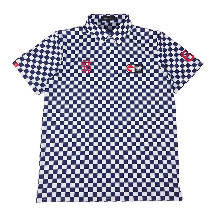 rough&swell ラフアンドスウェル GT TOUR ポロシャツ ネイビー RSM-20005 / ゴルフウェア メンズ ラフ&スウェル