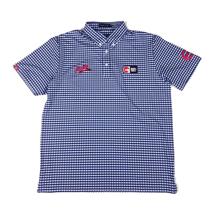 rough&swell ラフアンドスウェル PREPPY ポロシャツ ネイビー RSM-20006 / ゴルフウェア ラフ&スウェル メンズ