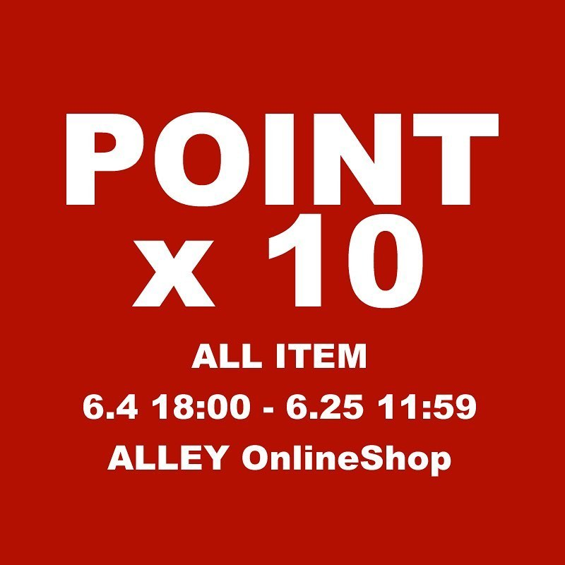 ALLEY POINT UP X 10