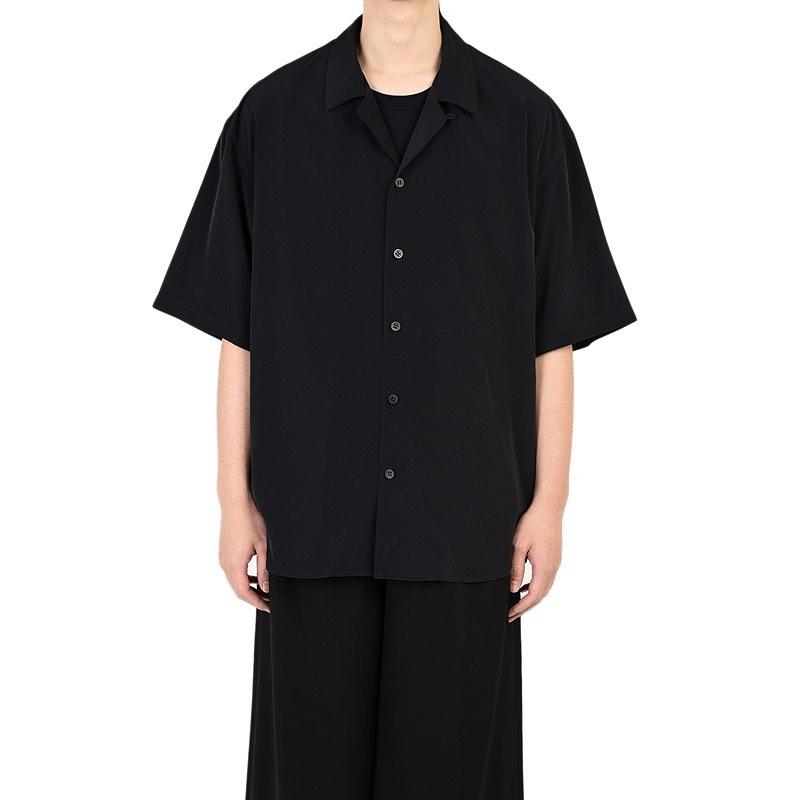 LAD MUSICIAN ラッドミュージシャン OPEN COLLAR BIG SHIRT オープンカラー 半袖ビッグシャツ ブラック 2320-102 ・・税込18,700円 ・・#ladmusician #ラッドミュージシャン #shirt#shirts#シャツ#半袖シャツ#メンズシャツ #オープンカラーシャツ #開襟シャツ #mensfashion #メンズファッション #mode#モード#modefashion #モードファッション #モード系ファッション #streetfashion #ストリートファッション #ストリート系ファッション #selectshop #セレクトショップ #alleyonlineshop #alleycompany #mood#instafashion#正規取扱店#ファッション通販#通販サイト#ネットショップ#instashirt