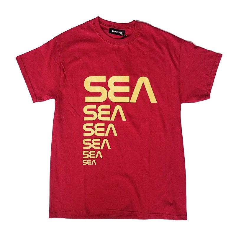 WIND AND SEA ウィンダンシー SEA (CSM) T-SHIRT レッド WDS-20S2-CS-04