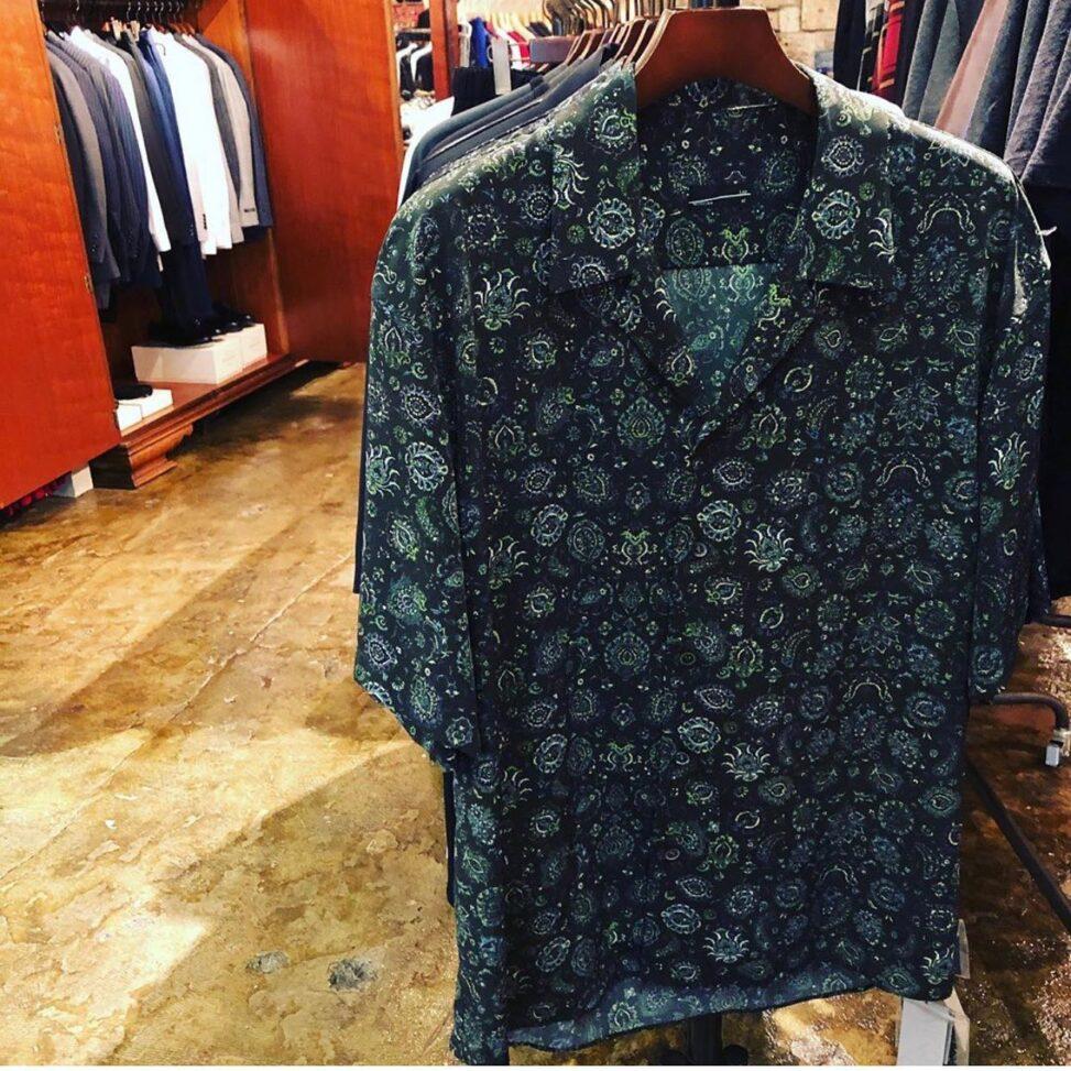LAD MUSICIAN ラッドミュージシャン OPEN COLLAR BIG SHIRT オープンカラー 半袖ビッグシャツ 2320-112