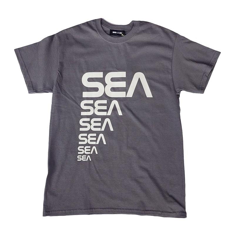 WIND AND SEA ウィンダンシー SEA (CSM) T-SHIRT グレー WDS-20S2-CS-04