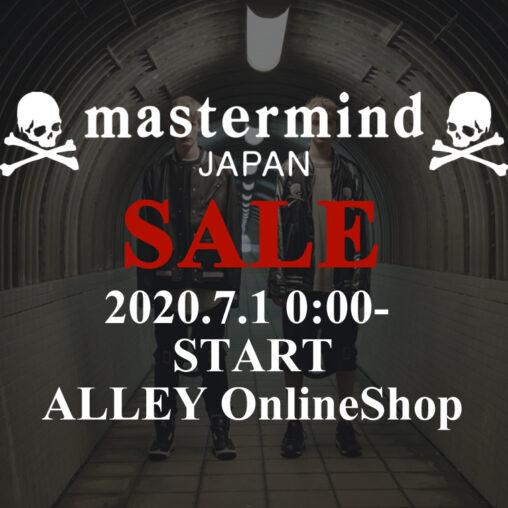 mastermind JAPAN/マスターマインドジャパン 2020 SPRING & SUMMER SALE