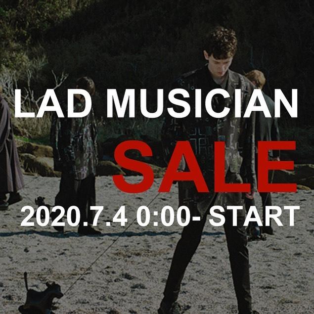 【SALE告知】7月4日(土)0時スタート LAD MUSICIAN SALEラッドミュージシャン・セール