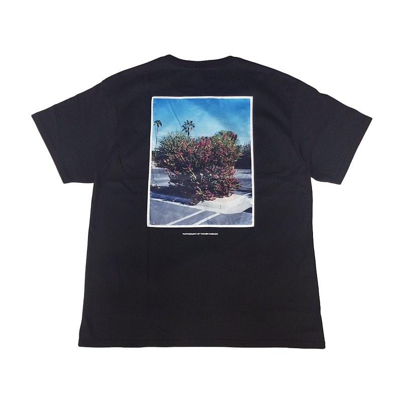 """WIND AND SEA ウィンダンシー SEA """"flower"""" PHOTO (SATIN) T-SHIRT Tシャツ ブラック WDS-20S2-CS-07"""
