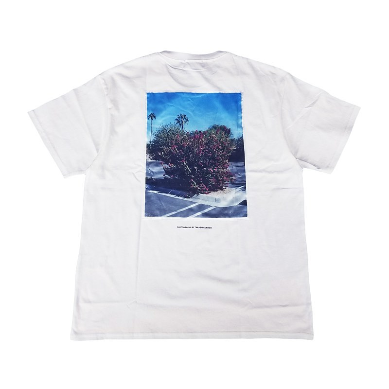 "WIND AND SEA ウィンダンシー SEA ""flower"" PHOTO (SATIN) T-SHIRT Tシャツ ホワイト WDS-20S2-CS-07"