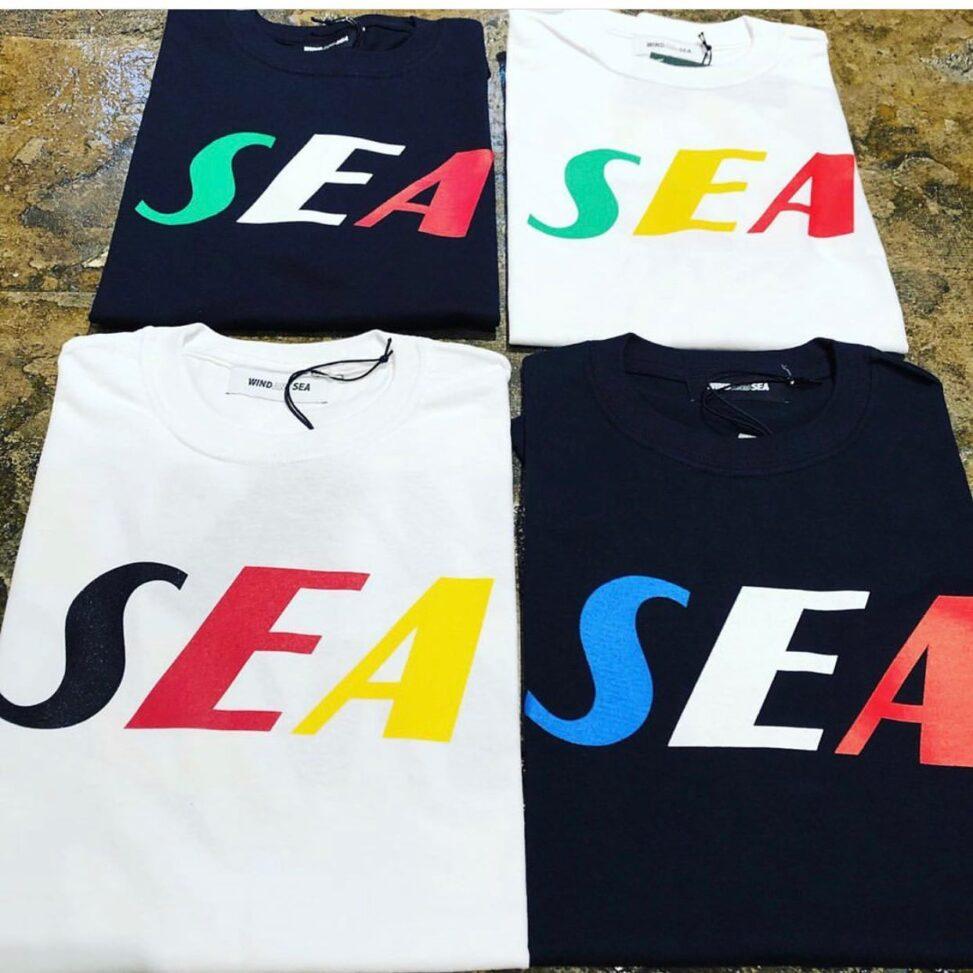 WIND AND SEA ウィンダンシー SEA TRICOLOR TEE Tシャツ
