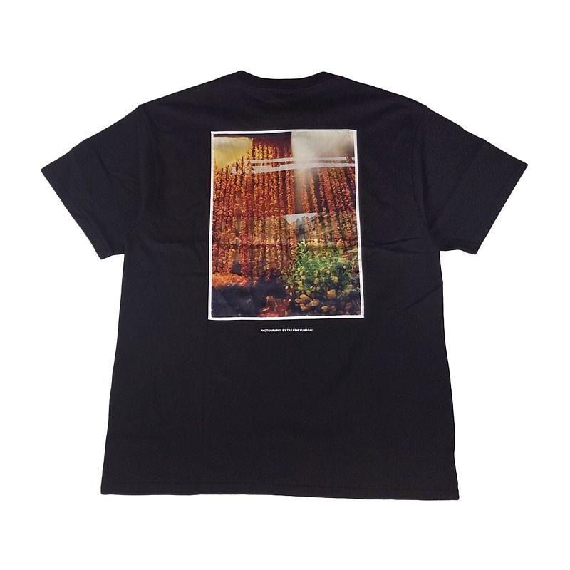 """WIND AND SEA ウィンダンシー SEA """"ornament"""" PHOTO (SATIN) T-SHIRT Tシャツ ブラック WDS-20S2-CS-08"""