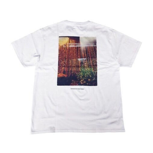 "WIND AND SEA ウィンダンシー SEA ""ornament"" PHOTO (SATIN) T-SHIRT Tシャツ ホワイト WDS-20S2-CS-08"