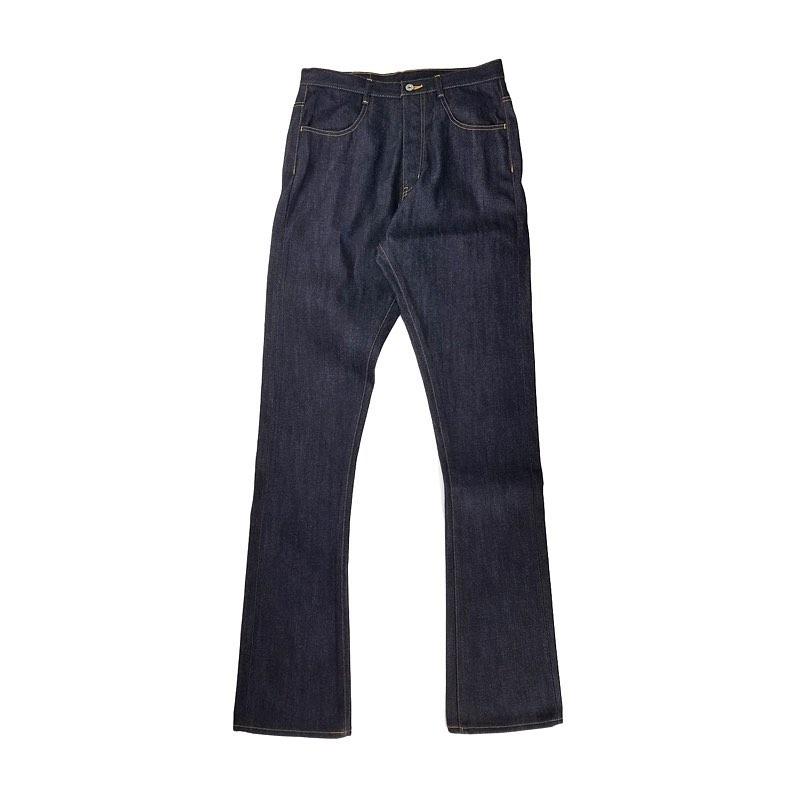 sulvam サルバム Mens Boot cut denim pants ブーツカット デニムパンツ インディゴ SM-P14-090