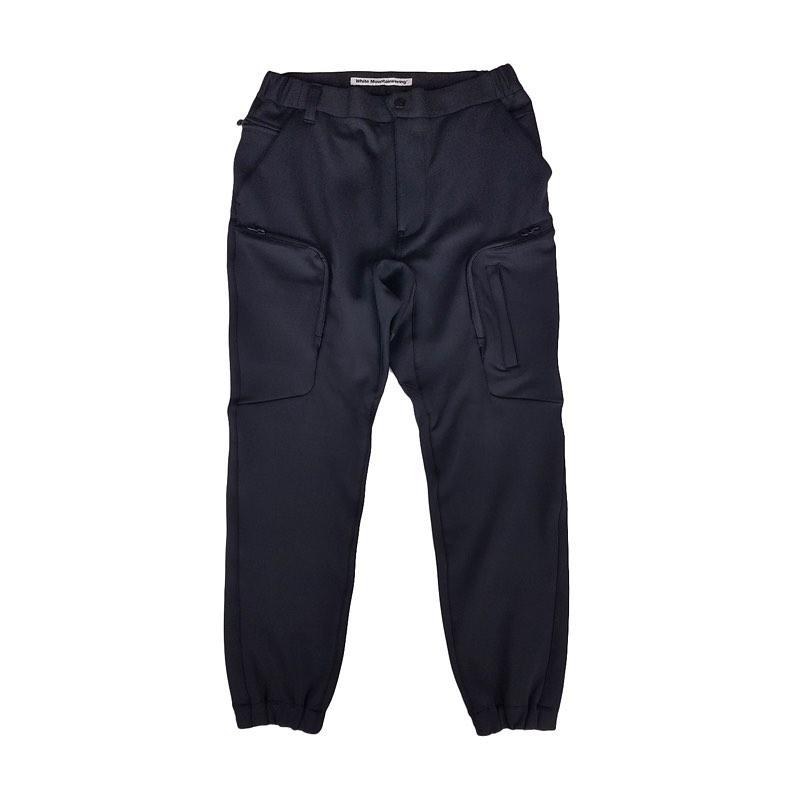 White Mountaineering ホワイトマウンテニアリング JERSEY TECH CARGO PANTS カーゴパンツ ブラック WM2073401 / パンツ