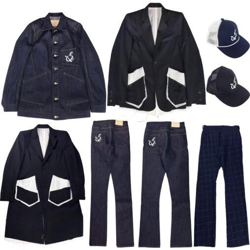 sulvam/サルバム 2020AW COLLECTION デニムジャケットやデニムパンツ、ウールジャケット、パンツ、キャップが入荷。