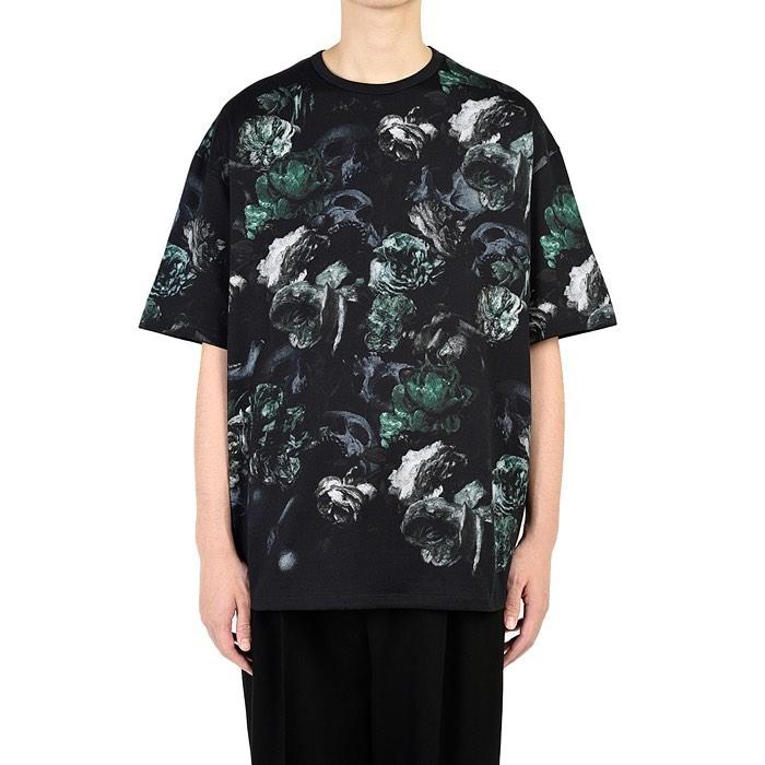 LAD MUSICIAN ラッドミュージシャン BIG T-SHIRT ビッグTシャツ グリーン 2220-719