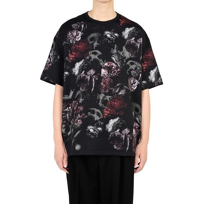 LAD MUSICIAN ラッドミュージシャン BIG T-SHIRT ビッグTシャツ レッド 2220-719