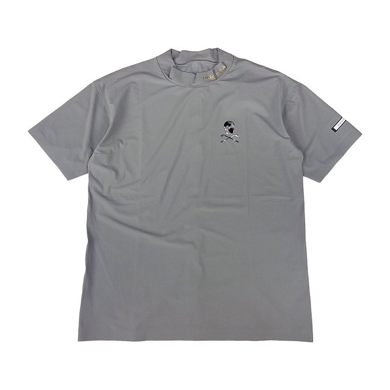 【木村拓哉さん着用モデル】MARK&LONA マークアンドロナ Arc Round Top MEN モックネックTシャツ グレー MLM-0C-AA01