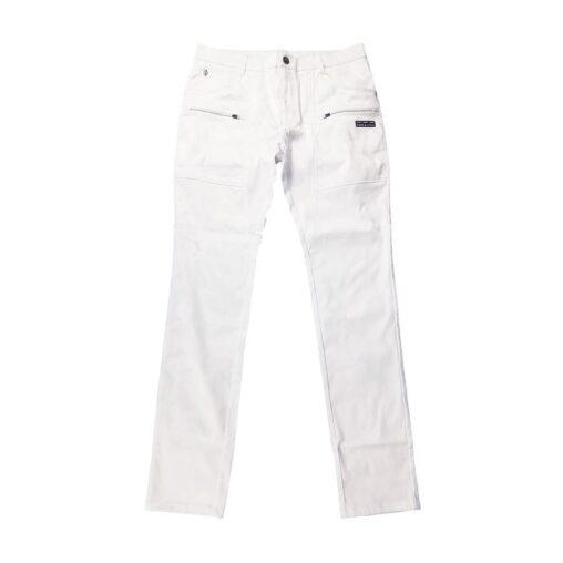 【木村拓哉さん着用モデル】MARK&LONA マークアンドロナ Gauge CMP Pants MEN ストレッチパンツ ホワイト MLM-0C-AT02