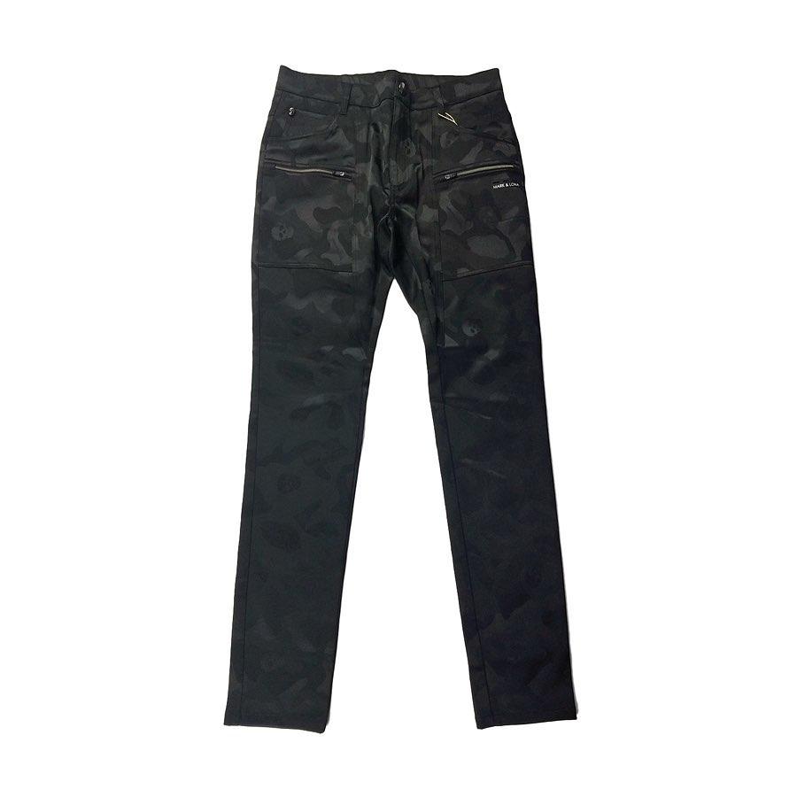 【木村拓哉さん着用モデル】MARK&LONA マークアンドロナ Gauge CMP Pants | MEN ストレッチパンツ ブラック MLM-0C-AT02