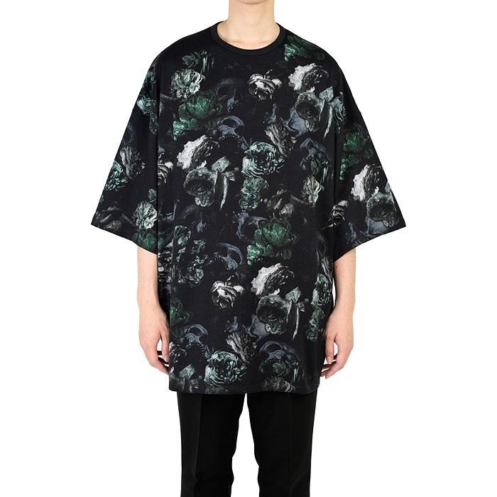 LAD MUSICIAN ラッドミュージシャン SUPER BIG T-SHIRT スーパービッグTシャツ グリーン 2220-721