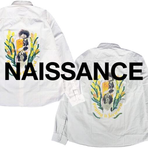 NAISSANCE/ネサーンス 20AW COLLECTION Jody Asano コラボシャツ他入荷