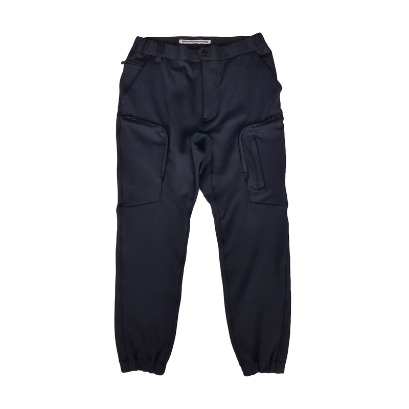 White Mountaineering ホワイトマウンテニアリング JERSEY TECH CARGO PANTS カーゴパンツ ブラック WM2073401 / パンツ-2