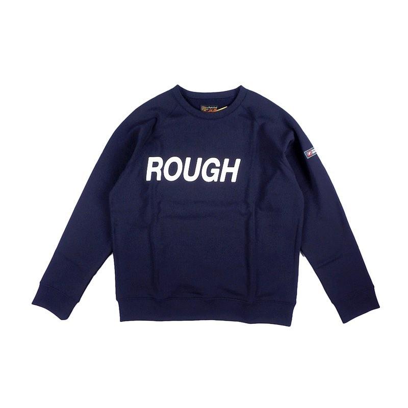 rough&swell ラフアンドスウェル BIG LOGO SWEAT ビッグロゴスウェット ネイビー RSM-20203 / ゴルフウェア メンズ ラフ&スウェル