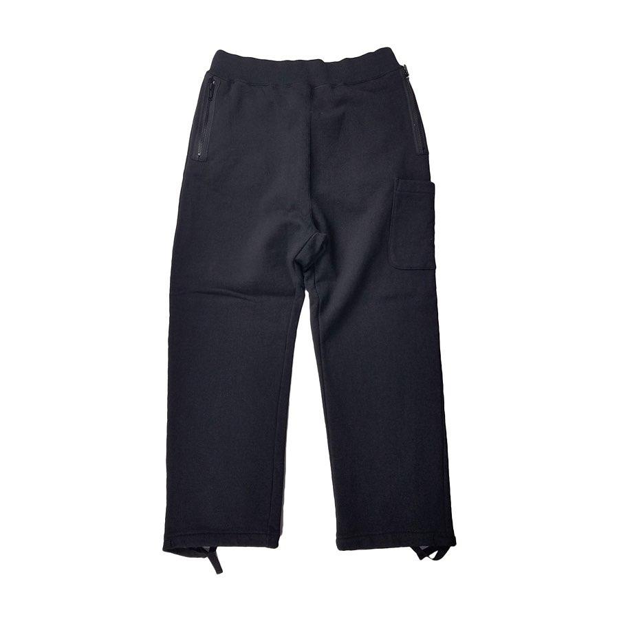 UNDERCOVER アンダーカバー 度詰裏毛スウェット 作務衣パンツ ブラック UCZ4507