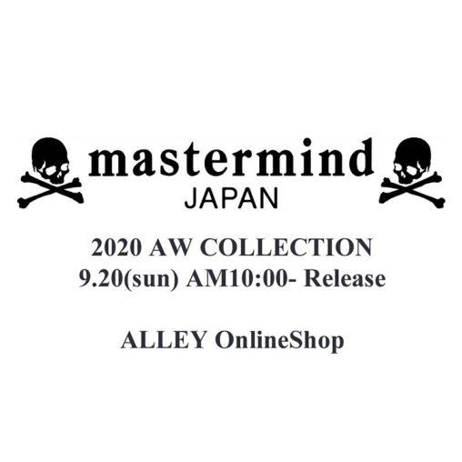 【9月20日午前10時発売】mastermind JAPAN 20AW COLLECTION RELEASE