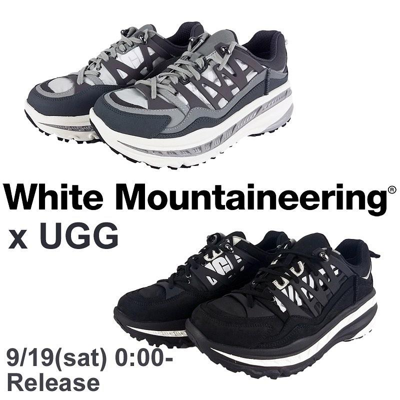 White Mountaineering ホワイトマウンテニアリング WM x UGG SNEAKER アグ コラボ スニーカー WM2073813