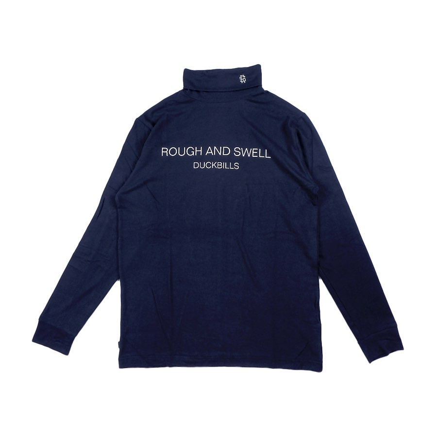 rough&swell ラフアンドスウェル WARM TURTLE タートルネック ネイビー RSM-20222 / ゴルフウェア
