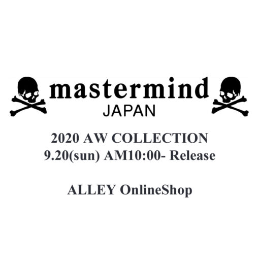 【9月20日午前10時発売】mastermind JAPAN 20AW COLLECTION RELEASE