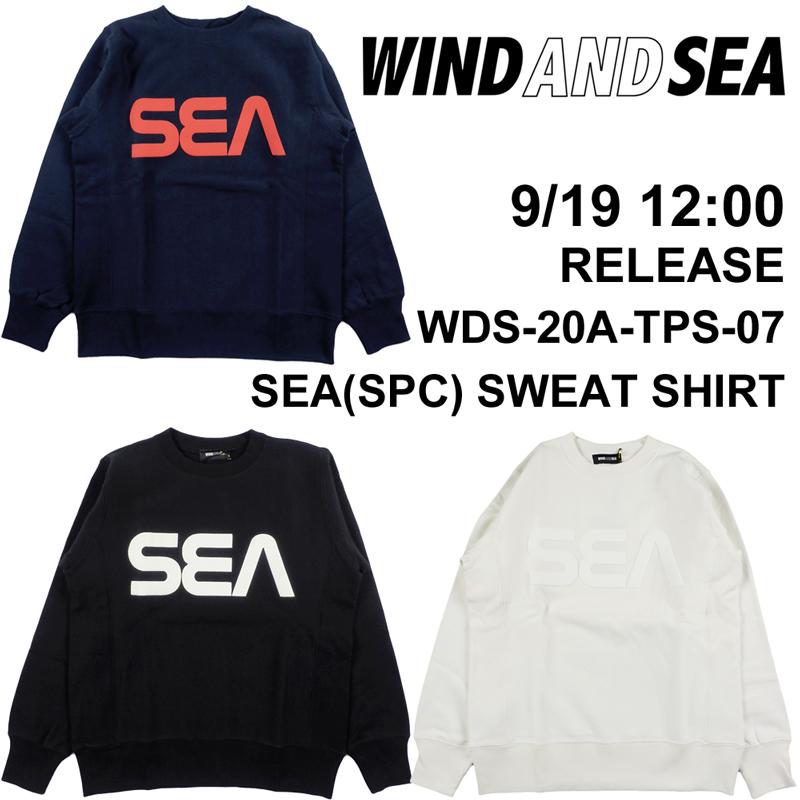 【9月19日(土)正午12時発売】WIND AND SEA/ウィンダンシー SEA(SPC) SWEAT SHIRT スウェット WDS-20A-TPS-07