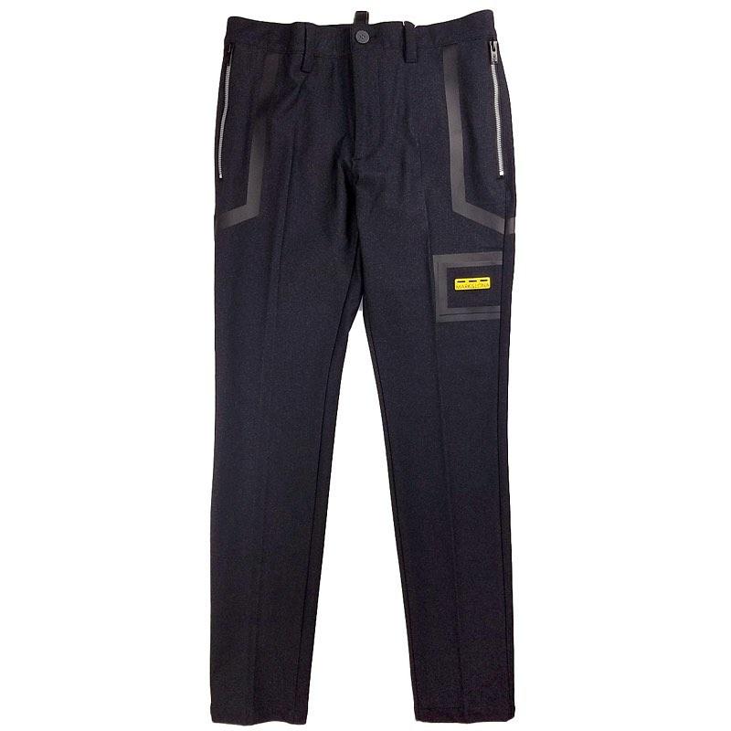 【木村拓哉さん着用モデル】MARK&LONA マークアンドロナ We'll be Stretch Trouser MEN スラックスパンツ ブラック MLM-0C-AT06