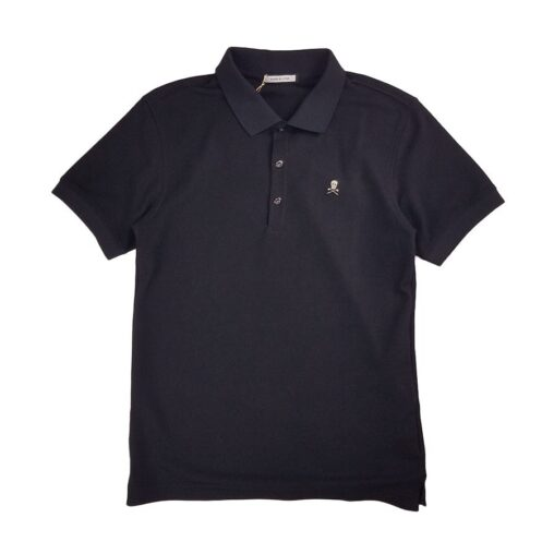 MARK&LONA マークアンドロナMARK&LONA マークアンドロナ Ace Polo MEN ポロシャツ ブラック MLM-0C-AP01 Ace Polo MEN ポロシャツ ブラック MLM-0C-AP01