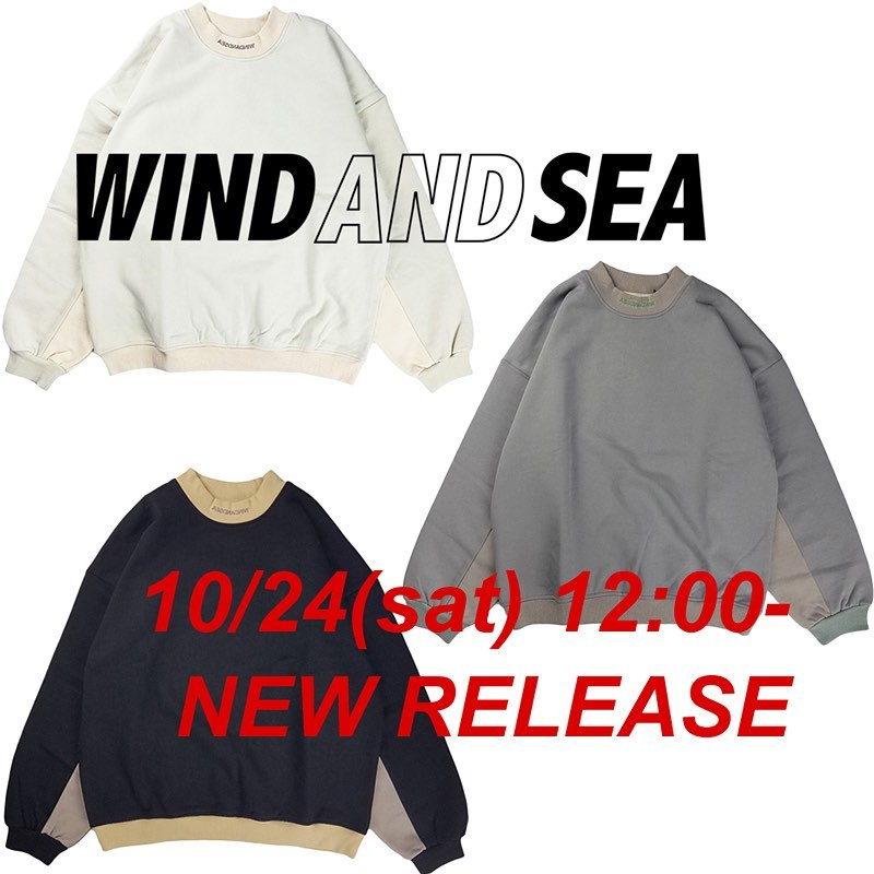 WIND AND SEA ウィンダンシー WDS (2T) SWEAT SHIRTS スウェット WDS-20A-TPS-02