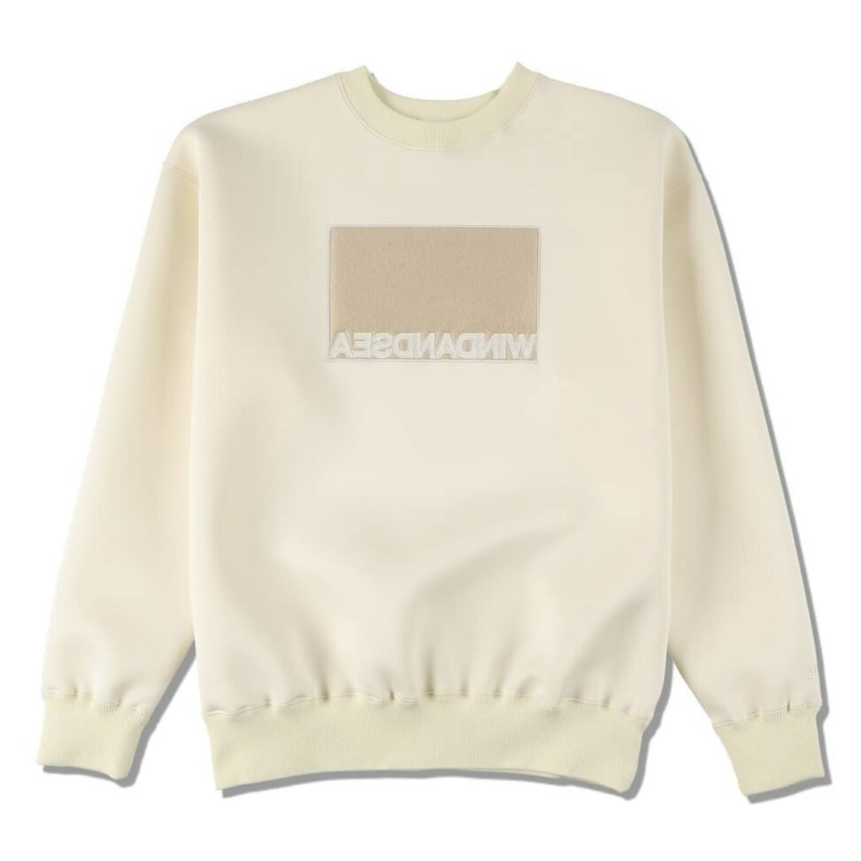 WIND AND SEA 新作スウェット発売 11月21日 WDS BOX CBK SWEAT TOPS WHITE WDS-20A-TPS-04