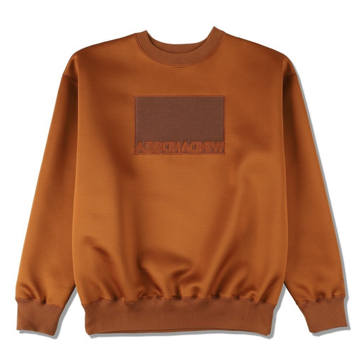 WIND AND SEA 新作スウェット発売 11月21日 WDS BOX CBK SWEAT TOPS BROWN WDS-20A-TPS-04