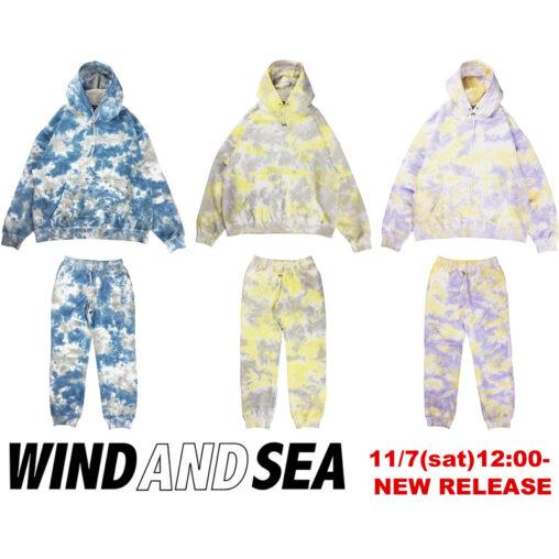 WIND AND SEA 11月7日新作発売