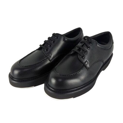 FOOTSTOCK ORIGINALS フットストックオリジナルズ U-TIP Uチップシューズ ブラック FS201205 /foot the coacher フットザコーチャー