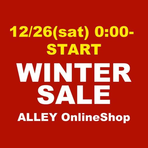 ALLEY WINTER SALE 開催中