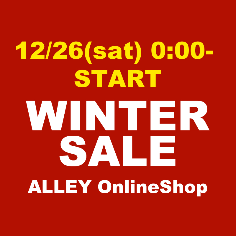 12月26日0時スタート!ALLEY WINTER SALE