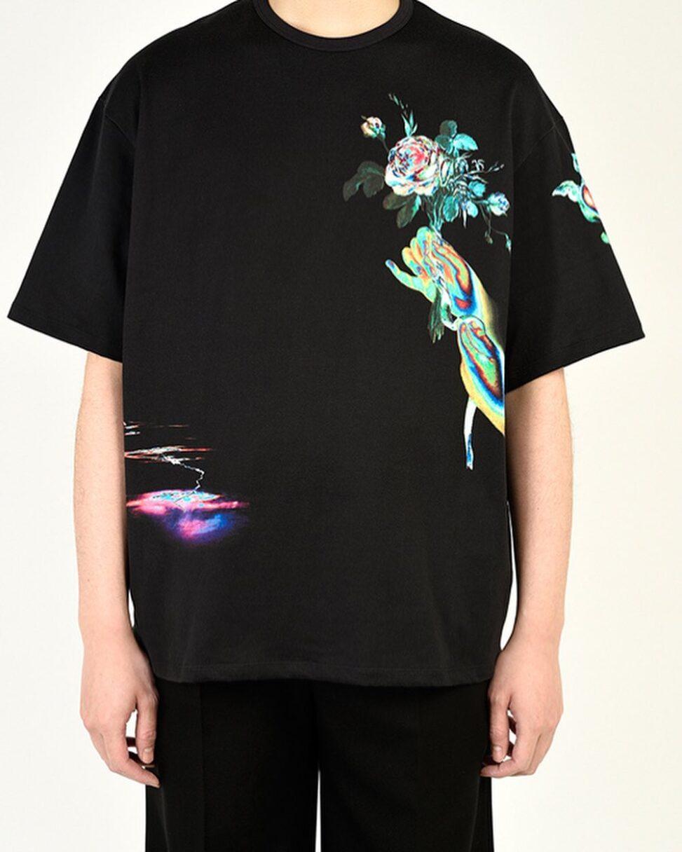 LAD MUSICIAN ラッドミュージシャン BIG T-SHIRT ビッグTシャツ ソラリゼーション 2121-715